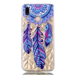 GELOVÉ POUZDRO DIAMOND BLUE FEATHER WIND NA HUAWEI P20 LITE